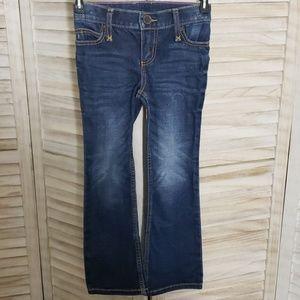 Girls Wrangler Bootcut Denim Jeans